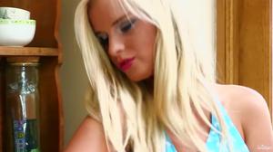 Solo video of most beautiful blonde in Czech Republic
