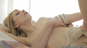 Young woman likes to fornicate with inexperienced man