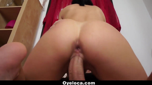 Spanish Slut Gets Pussy And Ass Fucked