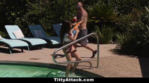 TittyAttack - Perfect Wet Teen Fucked