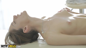 Savoury chick gets assfucked in hot massage porn movie