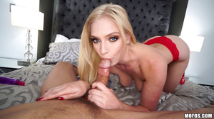 POV fucking clip featuring a hairy pussy blonde