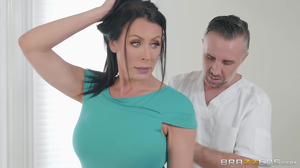 Oiled up whore is massaged and fucked in 1080p